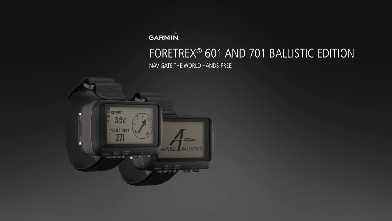 Garmin Sports Watch >> Garmin® Foretrex® 701 Ballistic Edition with Applied ...
