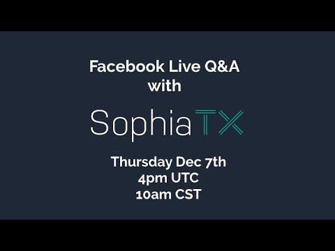 ICOindex Live Q&A with SophiaTX - The Blockchain for Business