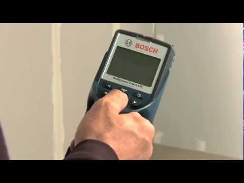 Scanner mural bosch d tect 150 youtube for Bosch scanner mural d tect 150 professional