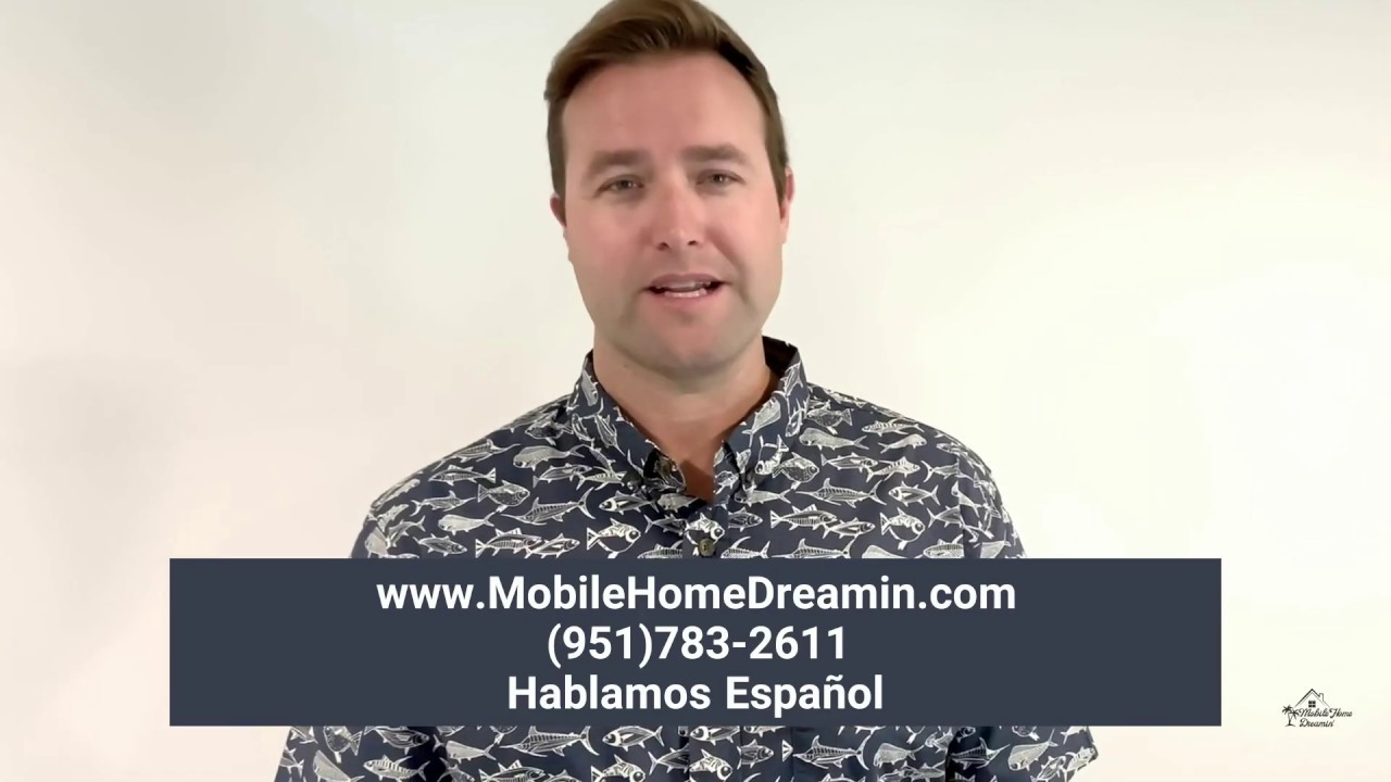 WE BUY MOBILE HOMES IN CASH | Hablamos Español | Mobile Home Dreamin