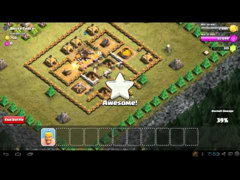 Clash of Clans Brute Force Video Guide - 3 Star Walkthrough