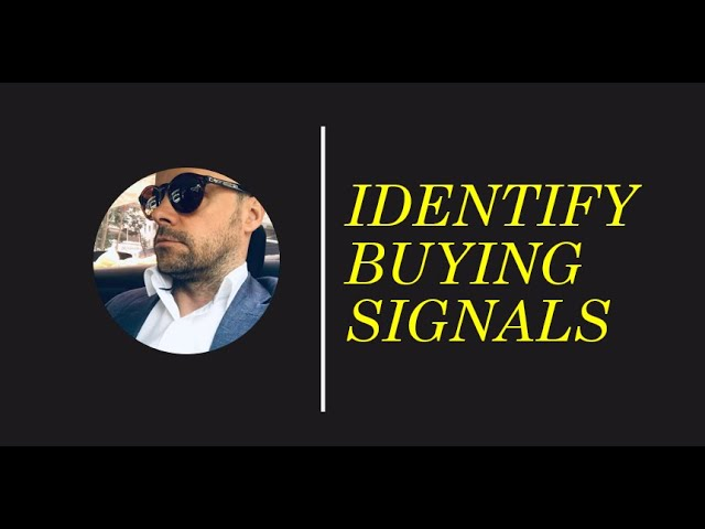 Identifying Buying Signals in sales