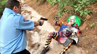 Police Finally Capture Creepy Woods Clown