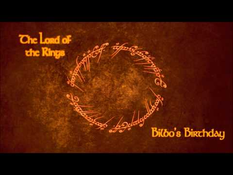 The Lord of the Rings   Bilbo's Birthday
