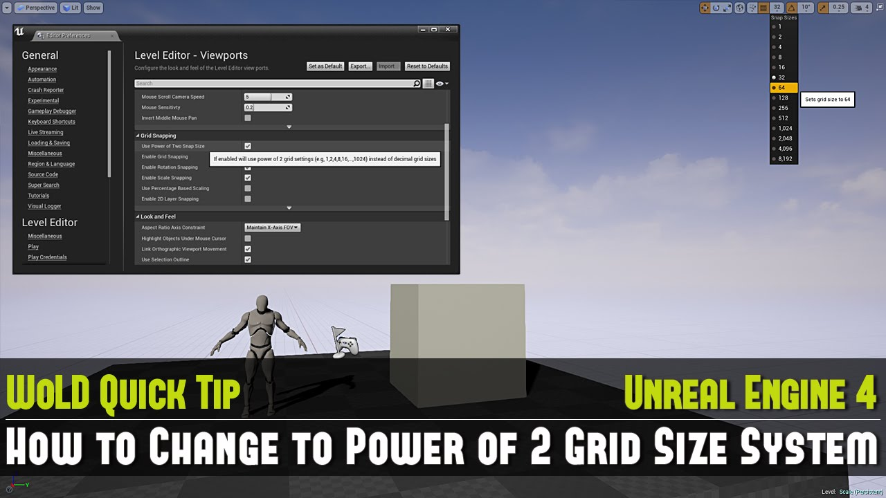 UE4: 10 Quick Tip Tutorials Part 1 (Tips 1-10)