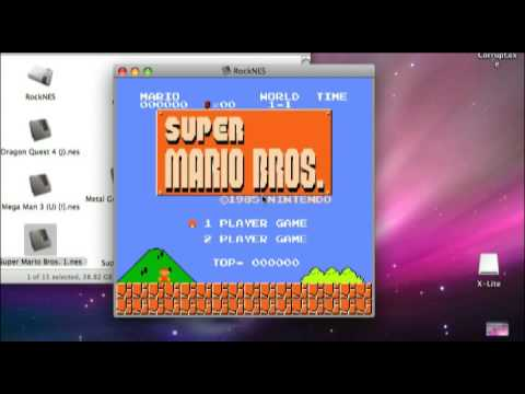 RockNES Nintendo Emulator For Mac