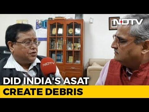 To NASA's Mission Shakti Rebuke, Ex-Defence Research Chief's Rebuttal