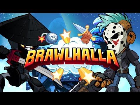 Brawlhalla Funny Moments | Easy 0-death Barraza Combo(REALLY WORKS!)