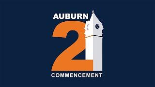 Auburn University Spring 2021 Commencement - VCOM