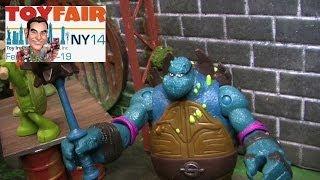 Nickelodeon Teenage Mutant Ninja Turtles Figures at New York Toy Fair 2014
