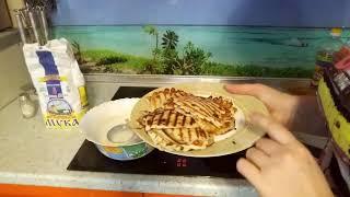 Готовлю завтрак / Рецепт вкусных блинчиков и сладких гренок / Mila_vlog