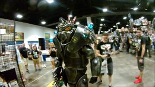 Fallout Cosplay Enclave Soldier Invades TAMPA COMIC-CON 2017