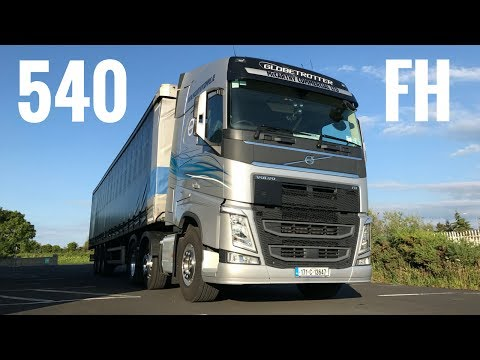 2017 Volvo FH 540 Truck - Full Tour & Test Drive - Stavros969