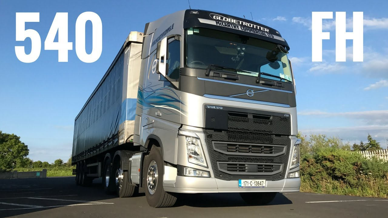 2017 Volvo FH 540 Truck - Full Tour & Test Drive - Stavros969 - YouTube