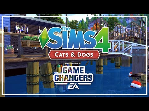 The Sims 4 Speed Build - [TS4 CATS AND DOGS] First Look at Build/Buy Mode