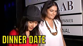 Saaho actor Shraddha Kapoor spotted on a dinner date with Tejaswini Kolhapure