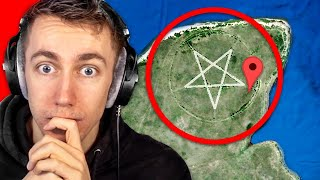 Sidemen React to WEIRDEST Things Found on Google Earth