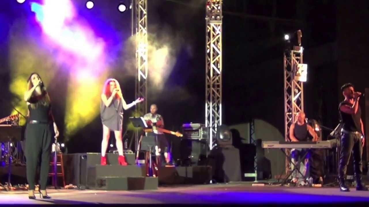Άννα Βίσση, Εβελίνα Παπούλια, Παναγιώτης Πετράκης - Αποκάλυψη, Άννα Με Πάθος Tour, Λεμεσός (2013)