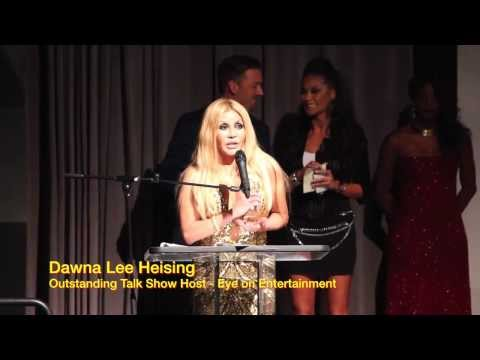 Dawna Lee Heising - 2013 EOTM Award for Outstanding TV Talk Show Host