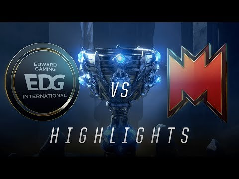 EDG vs INF - Worlds Play In Match Highlights (2018)