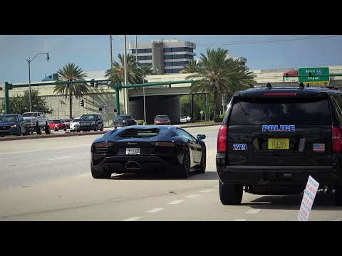 CRAZY EXITS, Accelerations, Pullovers at Cars and Coffee Palm Beach September 22, 2019!! [Part 2]