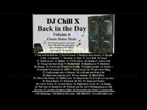 Top classic house music mix 90s back in the day part 6 for Old house music mix