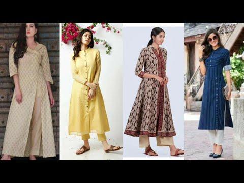 long-cotton-kurti-designs-stitching-ideas-2021-|-long-kurti-design-|-kurta-designs-|-kurtis-ideas