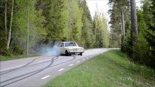 Volvo 740 16v turbo + volvo 142 turbo