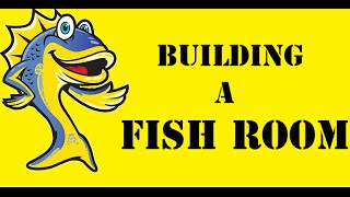 Building A Fish Room, Tank Talk The Podcast