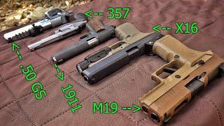 EVERY Pistol from COD Modern Warfare IRL!!!