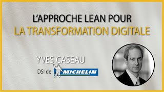 Tech Leaders Club - L'approche lean pour la transformation digitale
