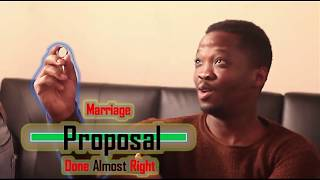 Another Marriage Proposal Gone Wrong (MDM Sketch Comedy)