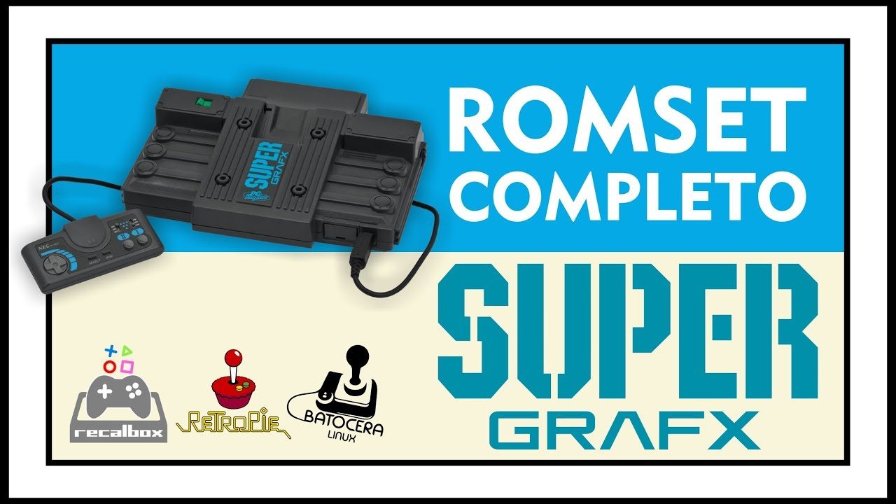 DOWNLOAD COMPLETE ROMSET OF SUPERGRAFX