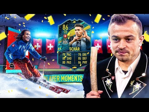 WHAT IS THIS CARD?! 86 PLAYER MOMENTS SCHAR PLAYER REVIEW! FIFA 20 Ultimate Team