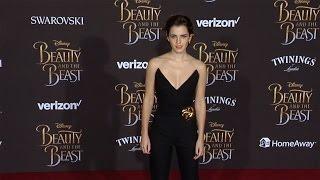 "Emma Watson ""Beauty and the Beast"" World Premiere Red Carpet"