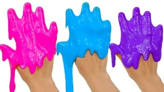 learn your colors with slime and noise putty video for kids