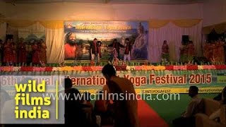 Theatrical dance by Sharmila Bhartari and Group, India
