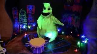 The Nightmare Before Christmas animated cake
