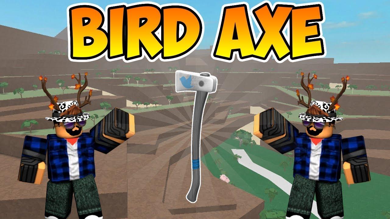  Roblox  Lumber Tycoon 2: HOW TO GET THE BIRD AXE (Twitter Axe)