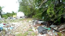 "Junk King Tallahassee ""BEFORE"" MHS - Rear shed/view property"