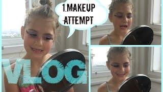 Vlog - Niky 1.makeup pokus -