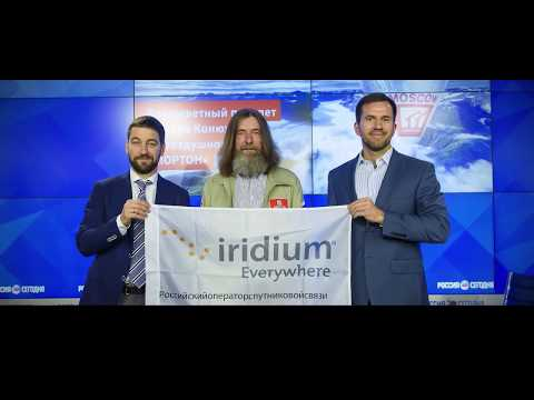 How Russian Adventurer Fedor Konyukhov Stays Connected with Iridium