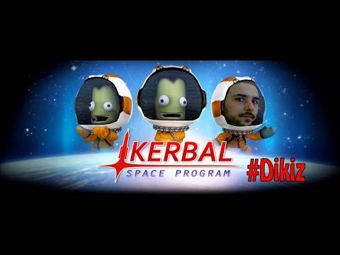Uzaya Çıkan İlk Türk ( Çıkamadı ) - Kerbal Space Program # Dikiz