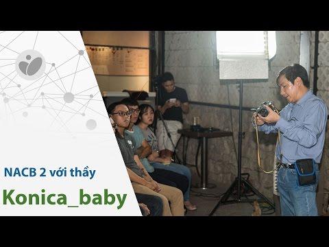 Nội dung buổi workshop NACB 2: hiểu về máy ảnh, cách cầm máy, tiêu cự, khẩu độ, chống rung...