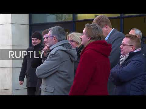 Germany: Coalition-vote ballots arrive at SPD headquarters in Berlin