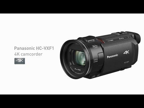 Panasonic 4K Camcorder HC-VXF1
