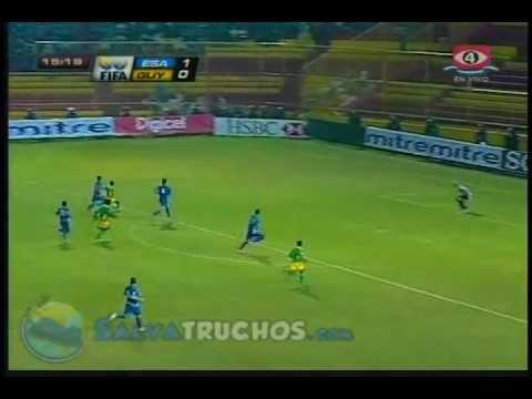 El Salvador Vs Guyana Goles 2 -2