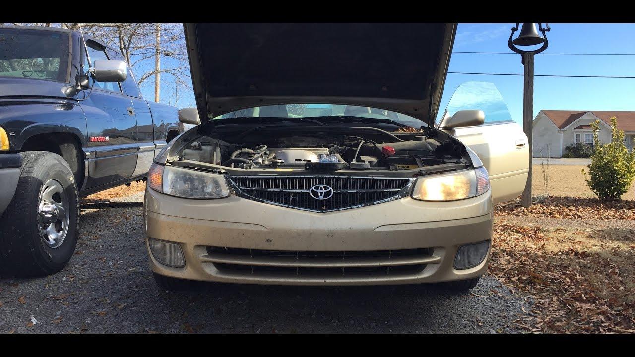 2000 Toyota Solara Headlight Bulb Replacement