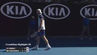 2017.01.16 - Теннис - Australian Open. Мужчины. И. Марченко (Украина) - Э. Маррей (Великобритания)