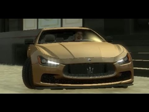 GTA IV Test Driving Maserati!